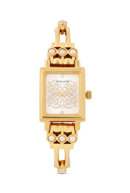 Sonata 8080YM04C Utsav Analog Watch for Women