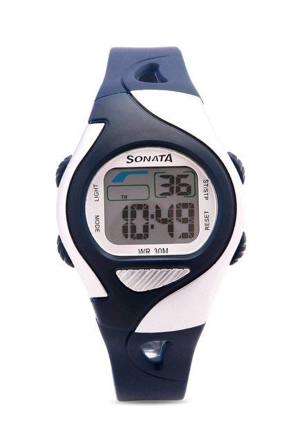 Sonata NH87011PP03 Super Fibre XI Digital Unisex Watches (NH87011PP03)