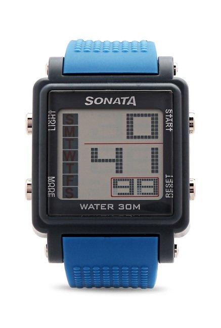 Sonata NH77043PP04 Super Fibre XI Digital Watch (NH77043PP04)