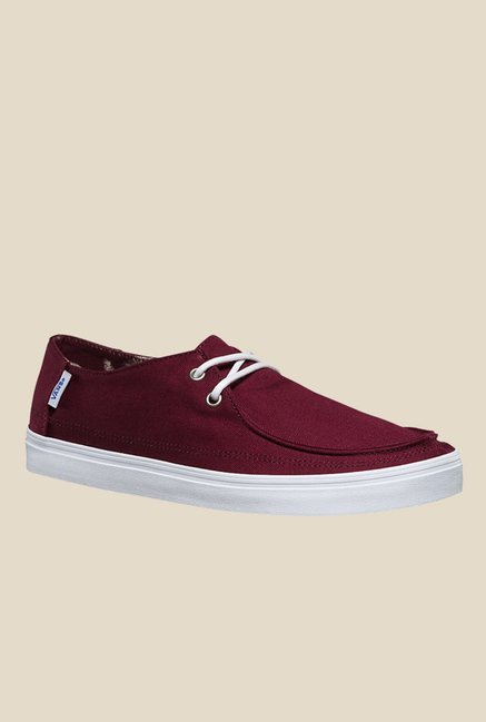 9a0fcb371f9 Buy Vans Rata Vulc SF Maroon Casual Shoes for Men at Best Price ...