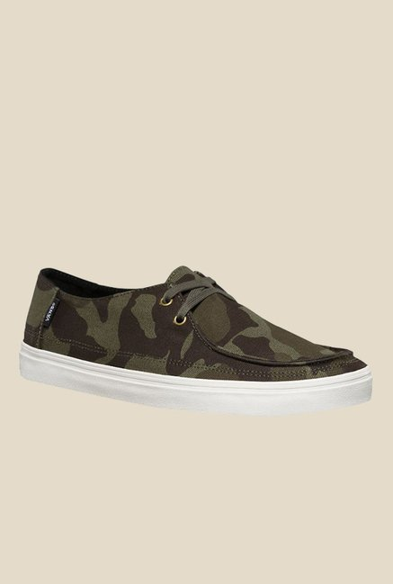 e32a2460d8 Buy Vans Rata Vulc SF Olive   Brown Casual Shoes for Men at Best Price    Tata CLiQ