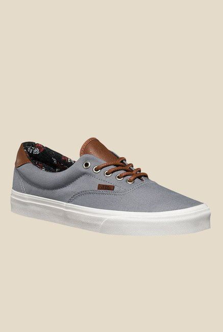 49cf432e510a Buy Vans Era 59 Grey   Brown Sneakers for Men at Best Price   Tata CLiQ