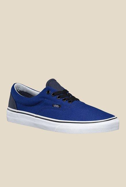 f6254feea4 Buy Vans Era Blue   Black Sneakers for Men at Best Price   Tata CLiQ