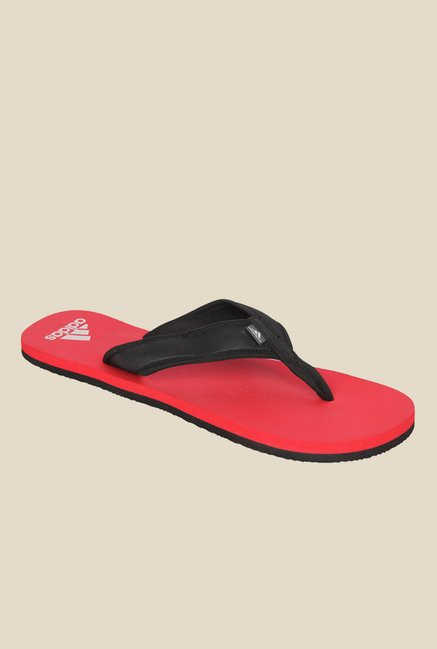 bb044e670bbc Buy Adidas Adi Rio Attack Black Flip Flops for Men at Best Price   Tata CLiQ