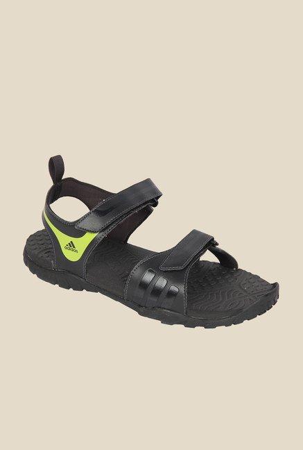 comprare adidas fuga signorina black galleggiante sandali per uomini al miglior prezzo