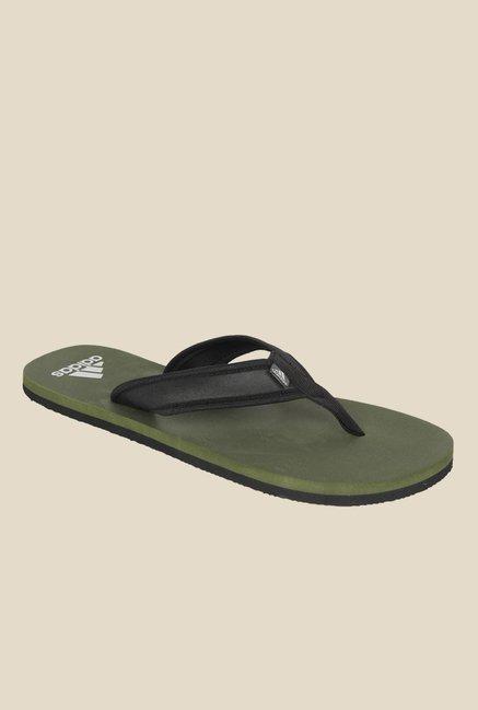 4633f38c881b Buy Adidas Adi Rio Attack Black Flip Flops for Men at Best Price   Tata CLiQ
