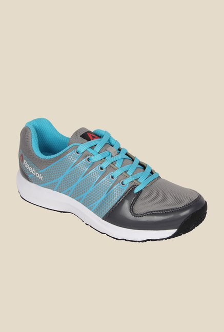 3ae87b221 Buy Reebok Cool Traction Blue   Grey Running Shoes for Women at Best Price    Tata CLiQ