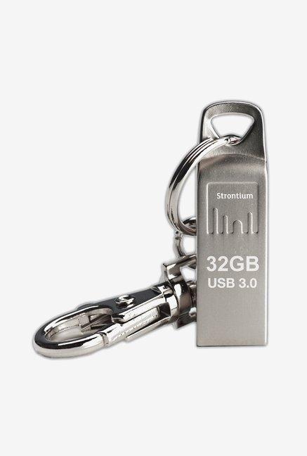 Strontium SR32GSLAMMOZ 32 GB USB 3.0 Pen Drive Silver