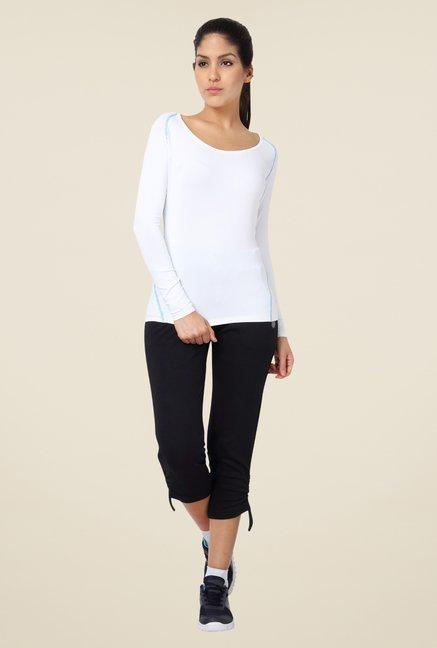 Proline White Solid T Shirt