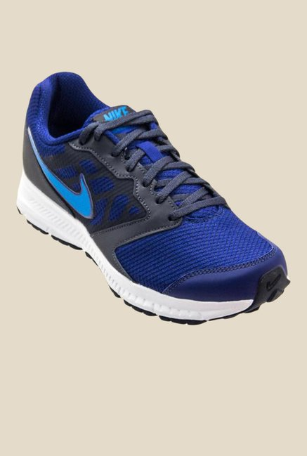 Buy Nike Downshifter 6 MSL Blue Running Shoes for Men at Best ... 6c44880bf6a1