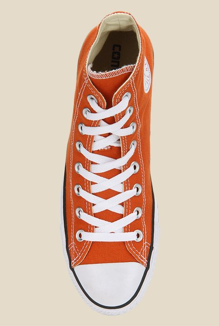 reputable site 6eed8 2620c Converse All Star Series Roasted Carrot   White Sneakers
