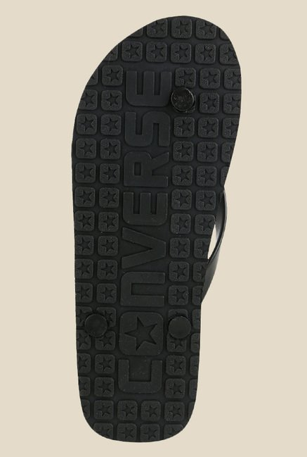c9aa2a414bfc Buy Converse Black Flip Flops for Men at Best Price   Tata CLiQ