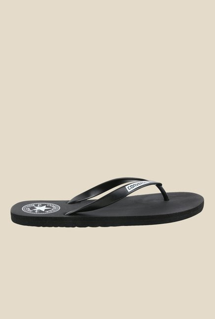 2d7014b15172f Buy Converse Black Flip Flops for Men at Best Price   Tata CLiQ