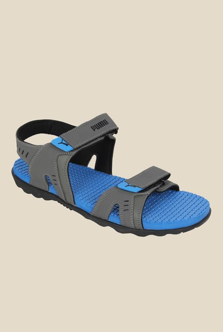 491d24ad588 Buy Puma Silicis Buck DP Grey Floater Sandals for Men at Best Price ...