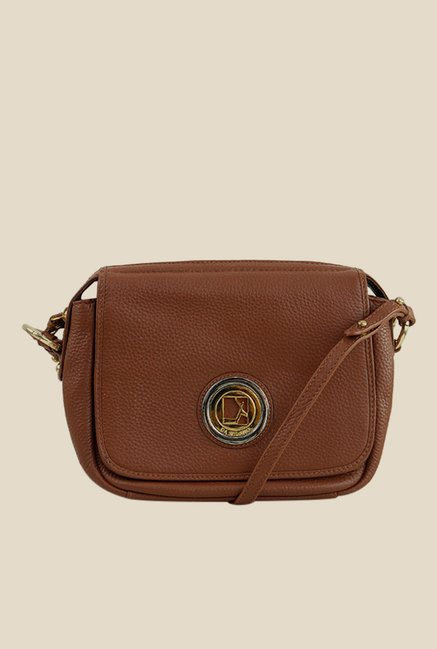 712785d2a11 Buy Da Milano Con Leather Sling Bag For Women At Best Price   Tata CLiQ