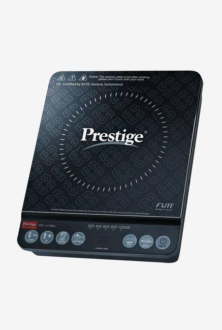 Prestige PIC 1.0 Mini 1200 W Induction Cooktop (Black)