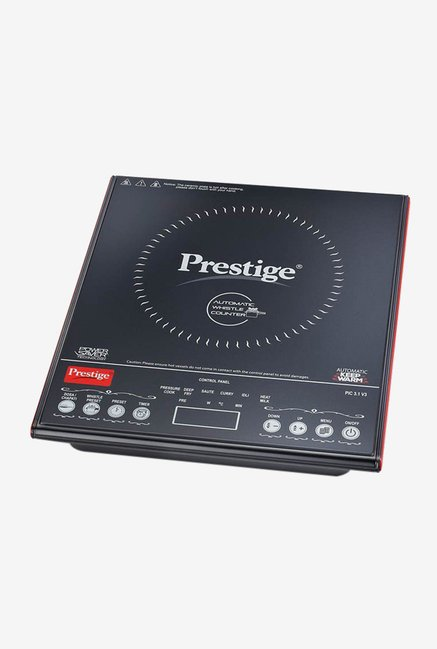 Prestige PIC 3.1 V3 2000 W Induction Cooktop (Black)
