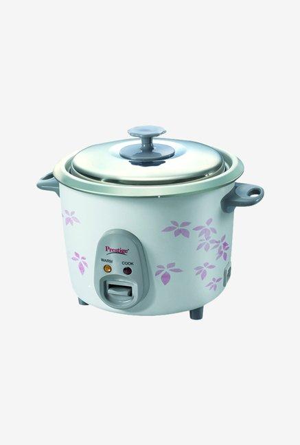 Prestige PRWO 1.4-2 Electric Rice Cooker, 1.4 L (White)