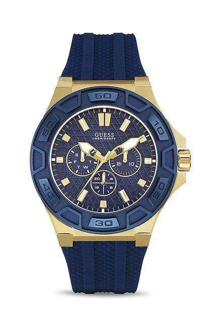 Guess W0674G2 Blue Dial Analog Men's Watch (W0674G2)