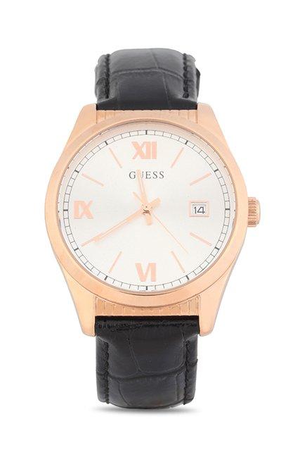 Guess W0874G2 Silver Toned Analog Men's Watch (W0874G2)