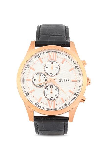 Guess W0876G2 White Chronograph Dial Men's Watch (W0876G2)