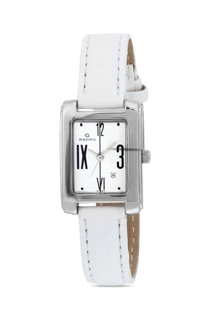 Maxima 20680LPLI Attivo Steel Analog Watch for Women