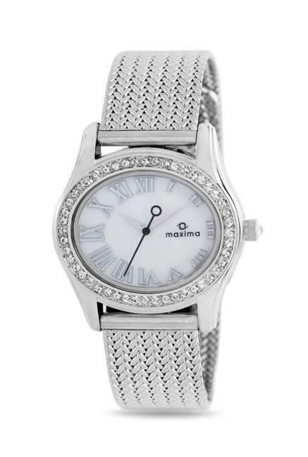 Maxima 29550CMLI Swarovski Attivo Analog Watch for Women