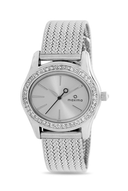 Maxima 29551CMLI Swarovski Attivo Analog Watch for Women