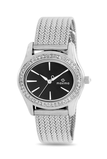 Maxima 29552CMLI Swarovski Attivo Analog Watch for Women