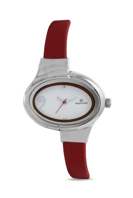 Maxima 25200LMLI Attivo Steel Analog Watch for Women
