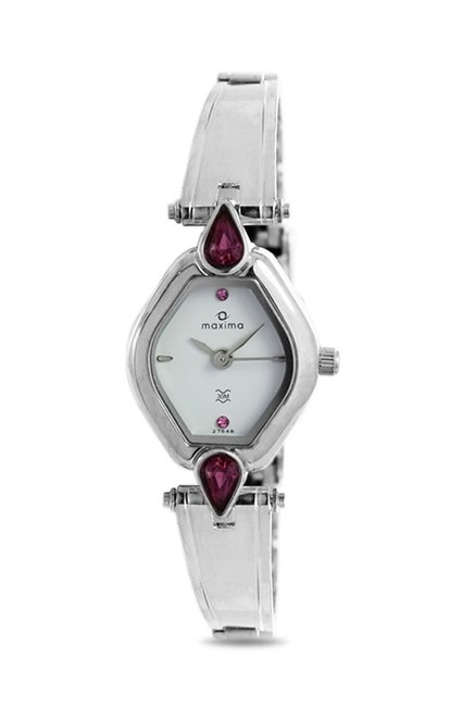 Maxima 27648CMLI Attivo Steel Analog Watch for Women