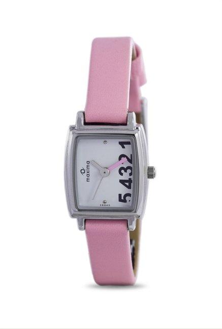 Maxima 38845LMLI Attivo Steel Analog Watch for Women