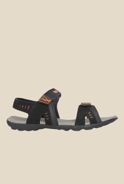 Buy Puma Silicis Buck DP Black Floater Sandals for Men at Best Price ... b3674fc7f3