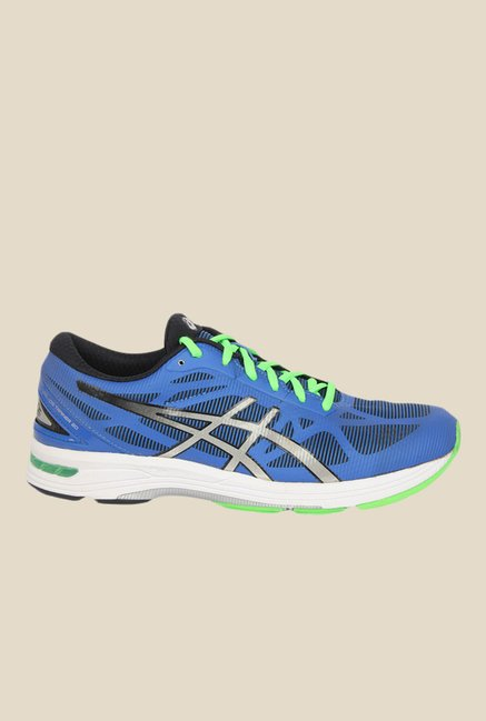 sale retailer 3a913 b9126 Buy Asics Gel-Ds Trainer 20 Blue & Green Running Shoes for ...