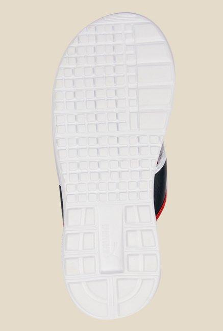 ca7cd20f512 Buy Puma BMW MS Black   White Flip Flops for Men at Best Price ...