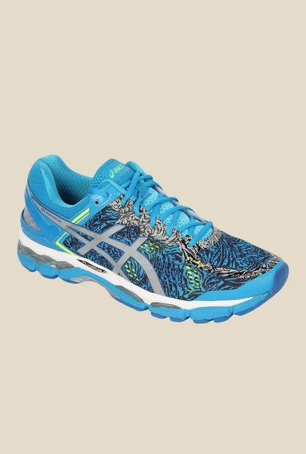 Asics Gel-Kayano 22 Lite-Show Blue Running Shoes