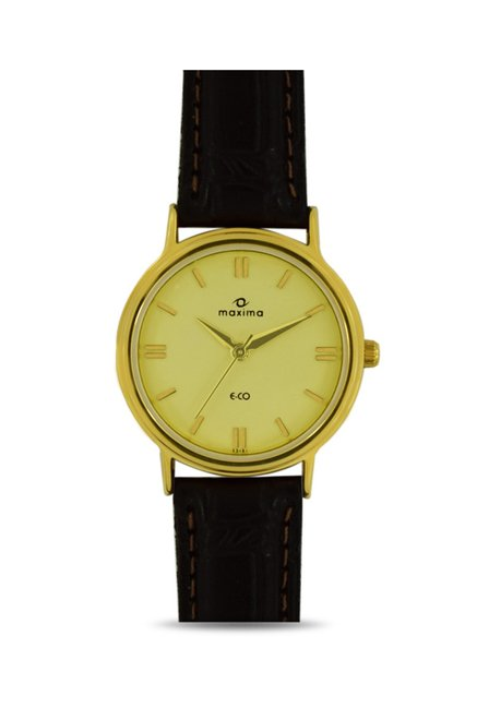 Maxima 32201LMLY Analog Watch for Women