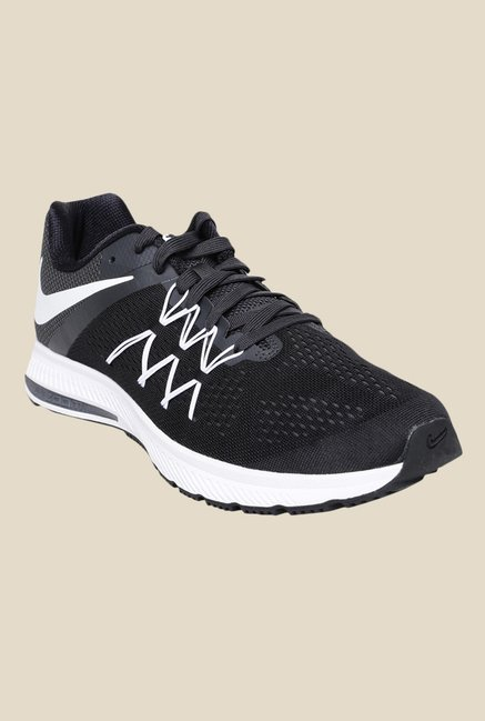 b52545e289f7 Buy Nike Zoom Winflo 3 Black Running Shoes for Men at Best Price ...