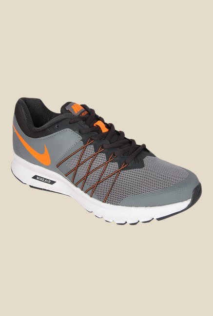 dec3e8d1735 Buy Nike Air Relentless 6 MSL Grey Running Shoes for Men at Best Price    Tata CLiQ