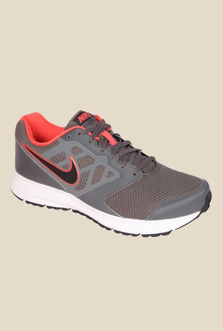 eb1cd6b5aa0 Buy Nike Downshifter 6 MSL Grey Running Shoes for Men at Best Price   Tata  CLiQ