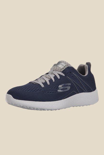 Buy Skechers Burst Navy Running Shoes for Men at Best Price