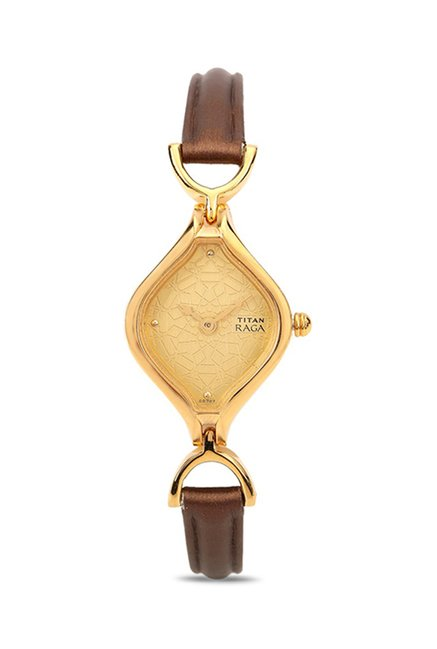 Titan NH2531YL02 Raga Analog Watch For Women