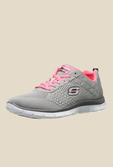 55181dc1ccf Buy Skechers Multisport Grey Running Shoes for Men at Best Price   Tata CLiQ