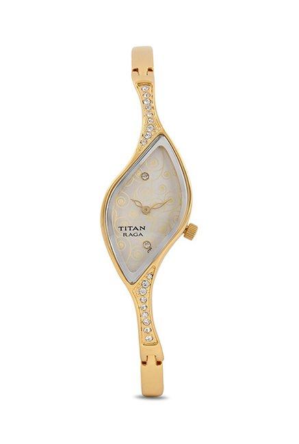 Titan NF9710YM01E Raga Analog Watch For Women
