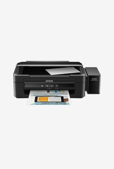 Epson L360 Colour Inkjet AIO Printer  Black