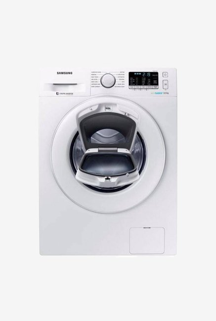 Samsung WW80K5210WW 8 Kg Fully Automatic Front Load Washing Machine  White