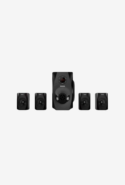 Philips SPA8150B 4.1 Channel Speaker System (Black)