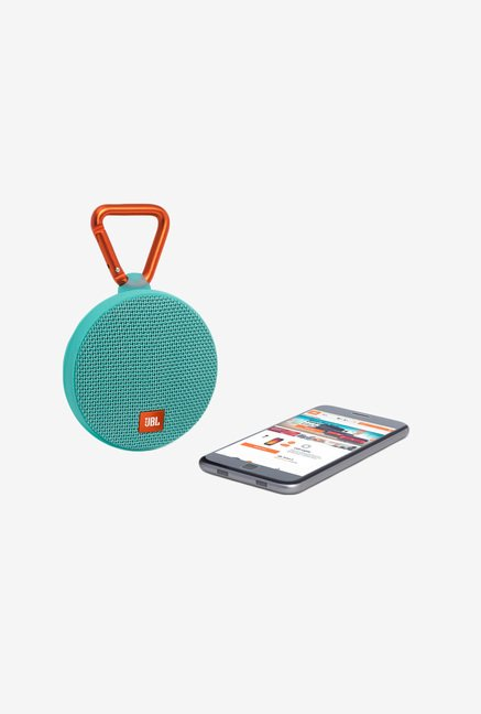 JBL Clip 2 Bluetooth Speaker (Teal)