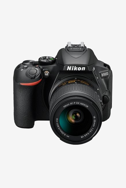 Nikon D5600 with (AF-P 18-55mm VR Lens) DSLR Camera