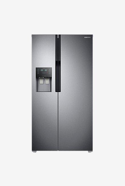Samsung RS51K5460SL 586L Side by Side Refrigerator (Silver)